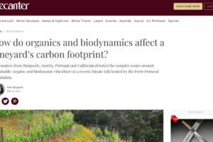 Decanter carbon footprint