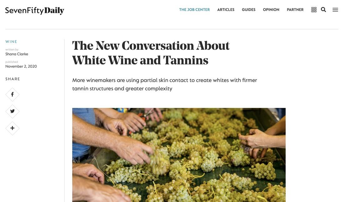 Come dare complessità ai vini banchi?