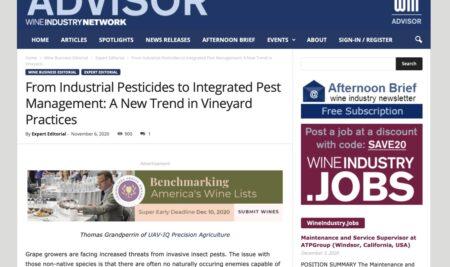 Pest Management: la California è sempre più green